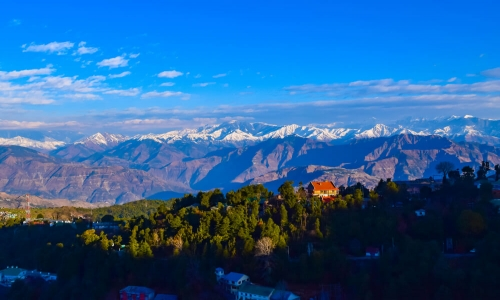 Spectacular view of HImachal