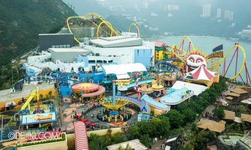 HONGKONG WITH OCEAN PARK